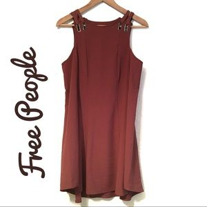 Free People Sleeveless dress with cutout back Sm